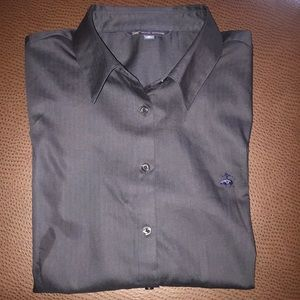 Navy Blue Brooks Brothers Button Down Shirt.  NWT